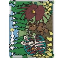 Teddy Bear And Bunny - The Venus Flytrap iPad Case/Skin