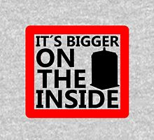 It´s Bigger On the Inside -Sign Unisex T-Shirt