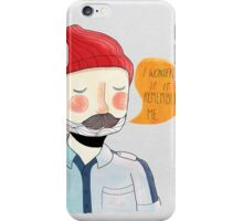 I Wonder If It Remembers Me iPhone Case/Skin