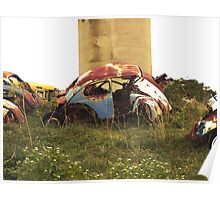Automobile Graveyard No 13 Poster