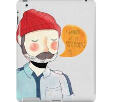 I Wonder If It Remembers Me iPad Case/Skin