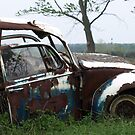 Automobile Graveyard No 15 by Barry W  King