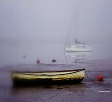 Mist coming into Topsham by Charmiene Maxwell-batten