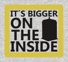 It´s Bigger On the Inside -Yellow Sign by JuanEstebanV