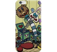 Teddy Bear And Bunny - Jacks In The Box iPhone Case/Skin