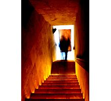 Pyramid winery ghost Photographic Print