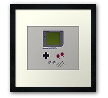 Nintendo Game Boy  Framed Print