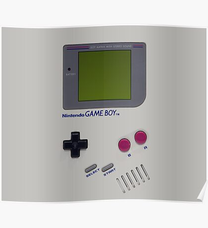 Nintendo Game Boy  Poster