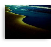 Sand & Sea Canvas Print