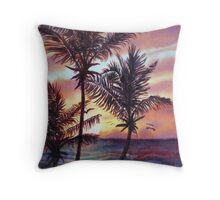 Sunrise at Cattlewash 1 Throw Pillow