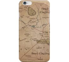 Map of the Shire iPhone Case/Skin