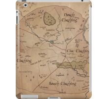 Map of the Shire iPad Case/Skin