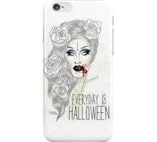 "Sharon Needles ""Everyday is Halloween"" iPhone Case/Skin"