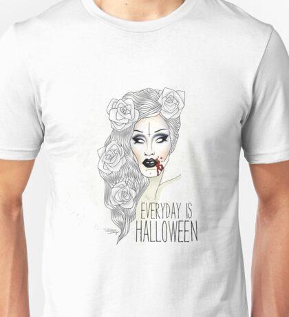 "Sharon Needles ""Everyday is Halloween"" Unisex T-Shirt"