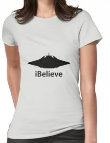 iBelieve Womens Fitted T-Shirt