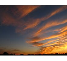 Sky streaks Photographic Print