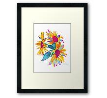 """Sunny Syncopation"" Framed Print"