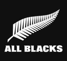 new zealand all blacks custom logo black t-shirt tshirt by bolingdorot