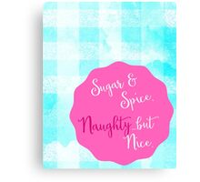 Spicy Holiday Canvas Print