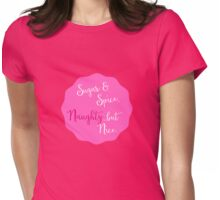 Spicy Holiday Womens Fitted T-Shirt