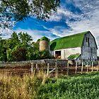 Old Barn by (Tallow) Dave  Van de Laar