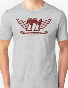 Grey SKT T1 World Champions Vintage Tee T-Shirt