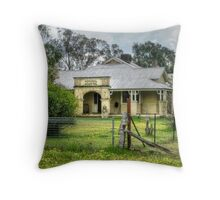 Historic Hospital ~ Stockinbingal NSW Throw Pillow