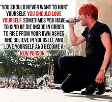 Gerard Way Quote #2 by DangerLine