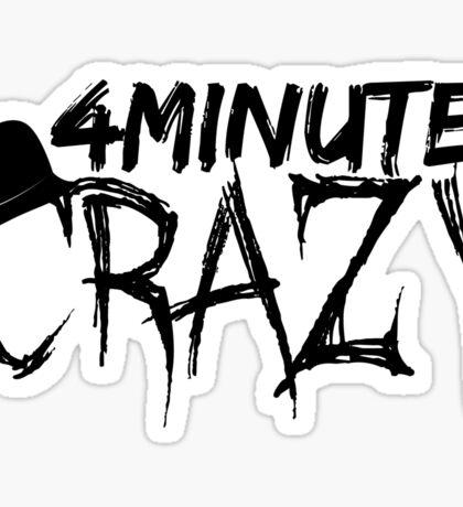 4minute - CRAZY (Hat Ver.) Sticker