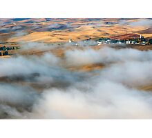 Steptoe Fog Clearing Photographic Print