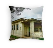 Historic Post Office Stockinbingal Throw Pillow