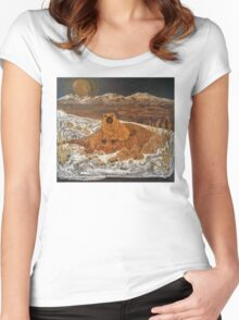 Good Morning, Mr. Groundhog! Women's Fitted Scoop T-Shirt