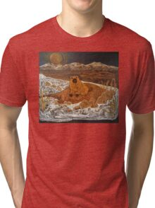 Good Morning, Mr. Groundhog! Tri-blend T-Shirt