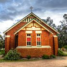 Catholic Church Stockinbingal  by Rosalie Dale