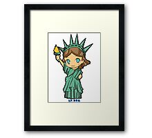 Lil Libby the Libertarian Framed Print