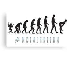 #MCTWERKTEAM Poster Canvas Print