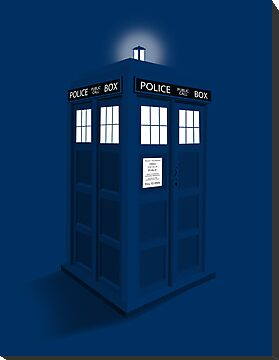 3D Colorful Police Box by soulthrow