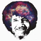 Bob Ross Shirt & Sticker  by BangBangDesign
