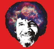 Bob Ross Shirt & Sticker  Kids Clothes