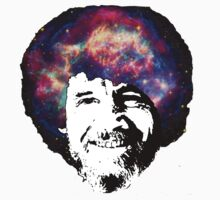 Bob Ross Shirt & Sticker  by BangBangDesign