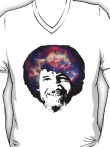 Bob Ross Shirt & Sticker  T-Shirt