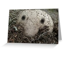 Kilroy Was Here  Greeting Card