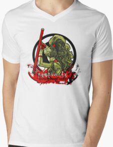 Bushin-Ryu Dojo Mens V-Neck T-Shirt