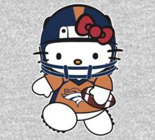 Hello Kitty Loves The Denver Broncos! by endlessimages