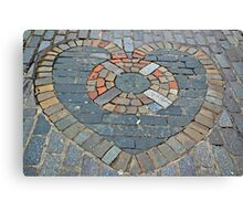 A Heart of Stone Canvas Print