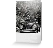 Icey Road Greeting Card