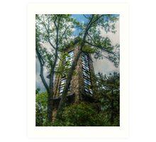 Ryecliff LookOut Tower on Ramapo Mountain Art Print