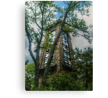 Ryecliff LookOut Tower on Ramapo Mountain Canvas Print