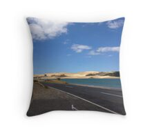 North Island NZ - Sand Dune Throw Pillow