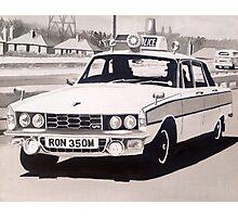 Rover P6 3500 V8 Police Car Photographic Print